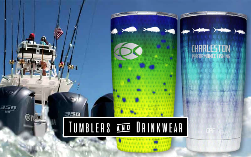 Insulated Fishing Tumblers & Drinkware